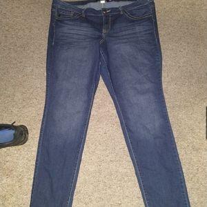 TORRID skinny jeans 22R